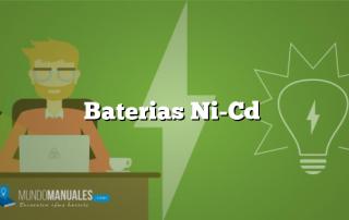 Baterias Ni-Cd