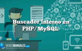 Buscador Interno en PHP/MySQL