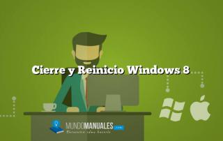 Cierre y Reinicio Windows 8