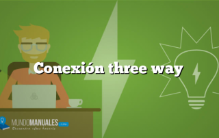 Conexión three way