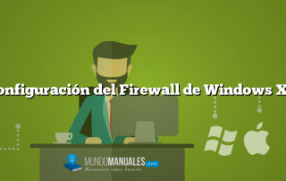 Configuración del Firewall de Windows XP