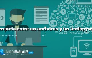 Diferencia entre un antivirus y un antispyware