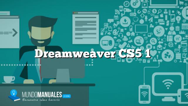 Dreamweaver CS5 1