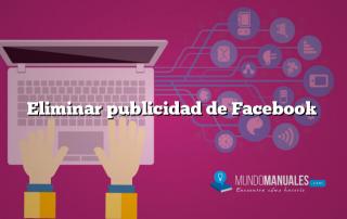 Eliminar publicidad de Facebook