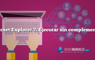 Internet Explorer 7: Ejecutar sin complementos