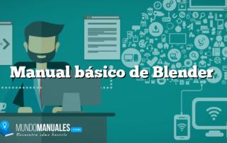 Manual básico de Blender