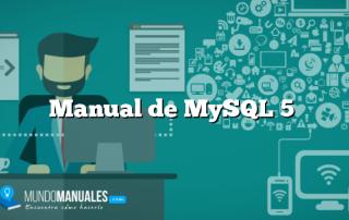 Manual de MySQL 5