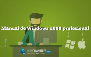 Manual de Windows 2000 profesional