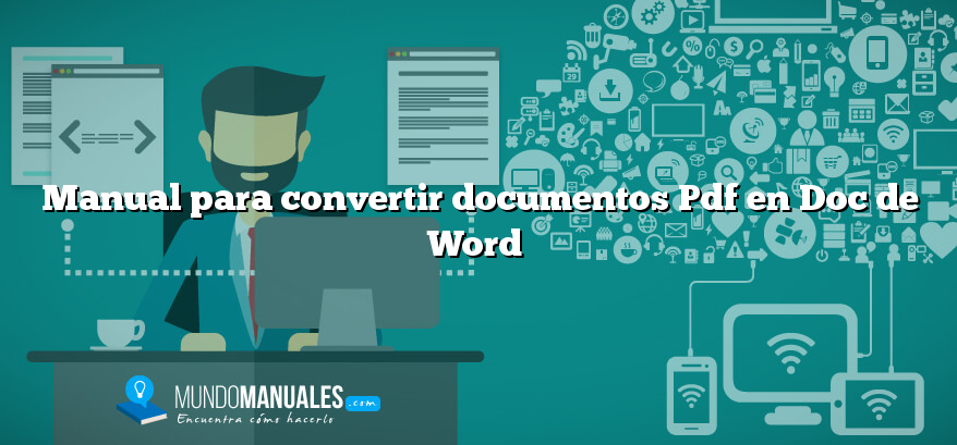 manual para convertir documentos pdf en doc de word