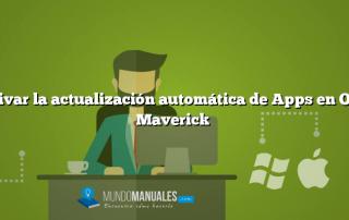Activar la actualización automática de Apps en OS X Maverick