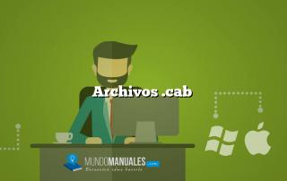 Archivos .cab