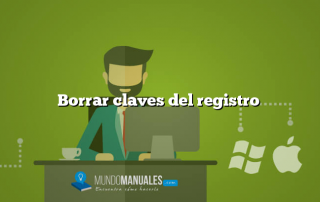 Borrar claves del registro