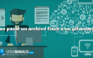 Como pasar un archivo flash a un gif animado