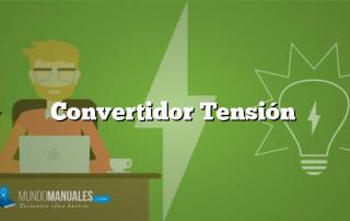 Convertidor Tensión