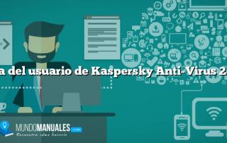 Guía del usuario de Kaspersky Anti-Virus 2010