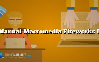 Manual Macromedia Fireworks 8