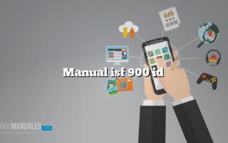 Manual isf 900 id