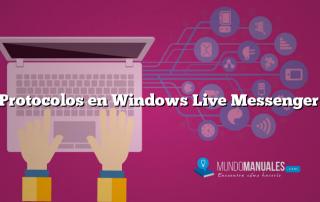 Protocolos en Windows Live Messenger
